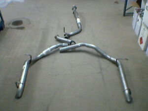 RANGE ROVER P38 SPORT EXHAUST SILENCER DELETE REMOVAL PIPES NOISY !!!