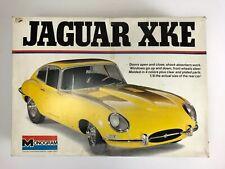 Monogram 1/8 Scale Jaguar XKE Yellow Sports Coupe Model Kit Extra Body