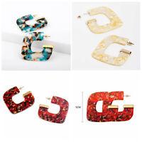 Fashion Women Earrings Acrylic Geometric Ear Stud Dangle Drop Statement Jewelry