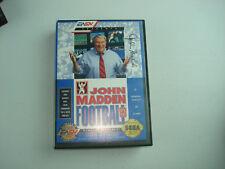 John Madden Football '93 Sega Genesis Video Game Complete in Box