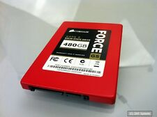 Corsair Force GS SSD Festplatte 480GB 2,5 Zoll, SATA II, CSSD-F480GBGS-BK, NEUW.