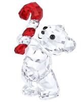 NIB$99 Swarovski KRIS BEAR with Candy Cane Christmas 2016 Annual Edition 5222231