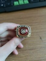 1996 Pete Maravich New Orleans Jazz NBA Championship rings