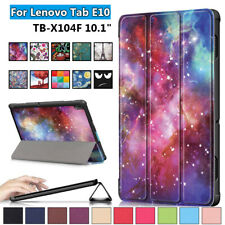 Tablet Cover Case Protective Shell Flip Stand For Lenovo Tab E10 TB-X104F