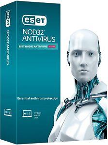 ESET NOD32 ANTIVIRUS 2021 - 3 YEARS - 1 DEVICE