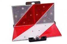 GEKA Parkwarntafel für PKW Anhänger hinten klappbar 285 x 285 mm mit