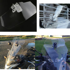Adjustable Clip on Windshield Windscreen Spoiler For Kawasaki KLR650 Versys 1000