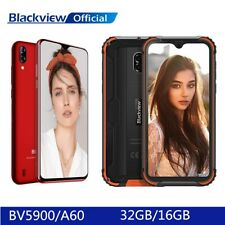 5,7 Zoll HD+ Blackview BV5900 A60 Handy Ohne Vertrag Smartphone Face ID 5580mAh