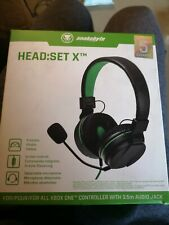 snakebyte Stereo Head:Set X™ for use with all XBOX One Consoles - Volume & Mute