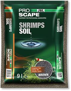 (3,99€/l) JBL ProScape Shrimp Soil Brown Bodengrund für Garnelen-Aquarien 9l