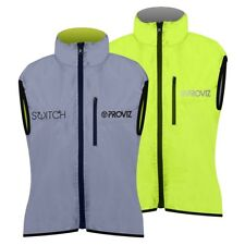 Proviz - Switch Woman's Reversible Cycling Gilet Vest - Yellow / Reflective