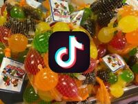 🔥‎TIK-TOK Dely-Gely Jelly Fruit-Licious Candy 5 Piece Sampler *IN HAND*🔥
