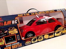 Volkswagen VW New Bright Red Beetle 1:6 Scale Radio Control RC 9.6v VHTF RARE!