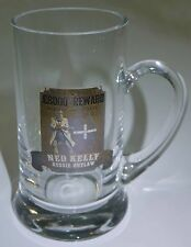 Ned Kelly Memorabilia Beer Stein / Beer Mug Stein Glass