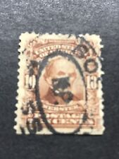 Scott # 307, used,10¢ Webster, 1903 Used NG