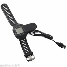 New USB Charging Charger Cable Clip for Garmin Forerunner 405CX 405 910XT 310XT