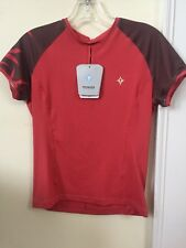 New Women's Specialized Trail Top Jersey Size Extra Small Rose