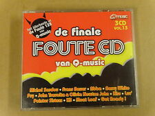 3-CD BOX Q-MUSIC / DE FINALE FOUTE CD - VOLUME 13