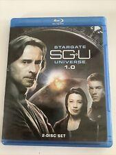 Stargate SGU Universe 1.0 (2-Disc Blu-ray, 2009)