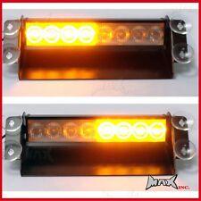 3 Flash Mode Amber Orange Emergency Flashing Strobe LED Safety Warning Light