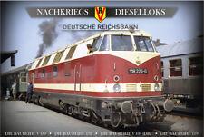Nachkriegs-Dieselloks - Deutsche Reichsbahn 4er-DVD-Box