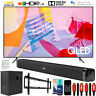 "Samsung QN85Q60TA 85"" Q60T QLED 4K UHD TV (2020) with Deco Gear Soundbar Bundle"