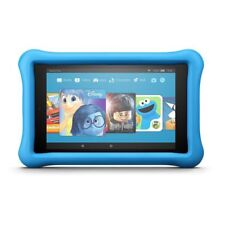 Amazon Fire HD 8 Kids Edition 8in. 32GB (7th Generation) Blue, SX034QT, Great!