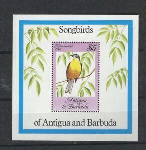 Antigua & Barbuda 778 - Songbirds. Souvenir Sheet Of 1. MNH. OG.     #02 ANTB778