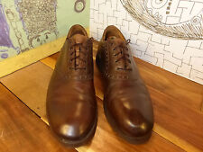 Johnston & Murphy Saddle Oxfords Men's 12M #20-3006 Oil Resistant, Made in Italy