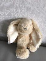 Cute Teddy Soft Toy Easter Bunny Rabbit Cream Plus Long Ears VGC