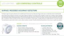 Hispec Movimiento Detector Sensor Empotradas En El Techo PIR 360° Seguridad Luz