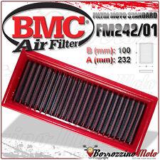 FILTRE À AIR BMC SPORTIF LAVABLE FM242/01 TRIUMPH DAYTONA 955 T595 1997 97
