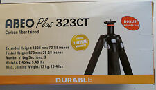 NEW VANGUARD Abeo Plus 323Ct Carbon Fiber Tripod 26 3/8 - 70 7/8 Inches