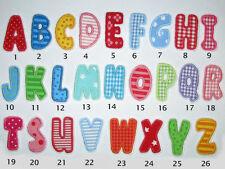 Buchstabe, Aufnäher, Applikation, Alphabet