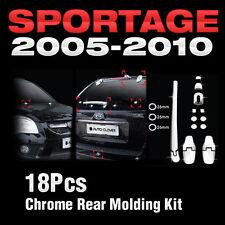 Chrome Window Accent Garnish Molding 4P Set A864 For Kia 2005-2010 Sportage