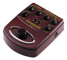 BEHRINGER ADI21 V-Tone Acoustic MOD AMPLIFICATORE ACUSTICO E DI-BOX A PEDALE
