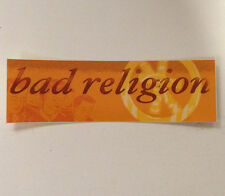 "Bad Religion sticker - Official 'Process of Belief' 5"" vinyl sticker Free Ship!"