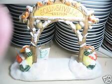 Charming Tails Squashville Village Sign 1996 W/ Bx
