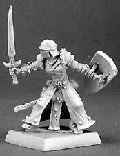 Overlords Warrior Reaper Miniatures Warlord Fighter Anti Paladin Melee Sword RPG