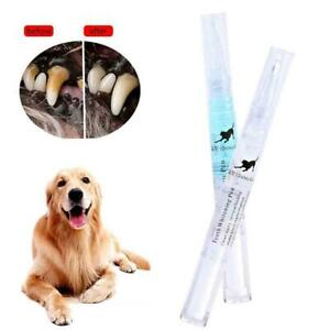 Pets Dog Teeth Cleaning Pen Set Tartar Dental Calculus Stone Remover Toothbrush