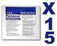 PANACUR® VERMIFUGE FORMAT GRANULÉS 22.2% POUR CHIENS ET CHATS 15 SACHETS DE 1.8G