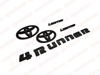 For 2014-2018 TOYOTA 4RUNNER BLACKOUT EMBLEM OVERLAY KIT OEM Limited