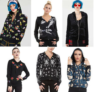 Womens Hoodies Alternative Punk Gothic Hooded Cardigan Jacket Steampunk