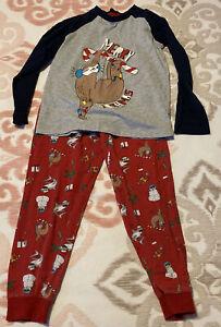 Age 7 Christmas sloth pyjamas