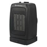 Comfort Zone CZ447EBK 1500-w Energy-Save Oscillating Ceramic Heater