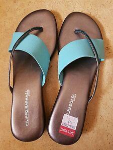Fillipo Raphael slippers/thongs sz38 euro NEW