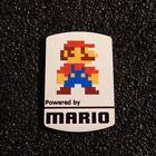 Super Mario Bros 8-bit NES Nintendo Logo Label Decal Case Sticker Badge 452b