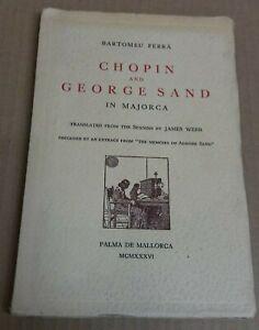 Bartomeu  Ferra   Chopin &  George  Sand  in  Majorca  1936