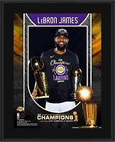 "LeBron James Los Angeles Lakers 10.5"" x 13"" 2020 NBA Finals Champ Player Plaque"