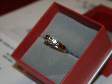 Christ LUPENREIN Diamantring 585er Weißgold 0,10 Billant GUT Christ Zertifikat